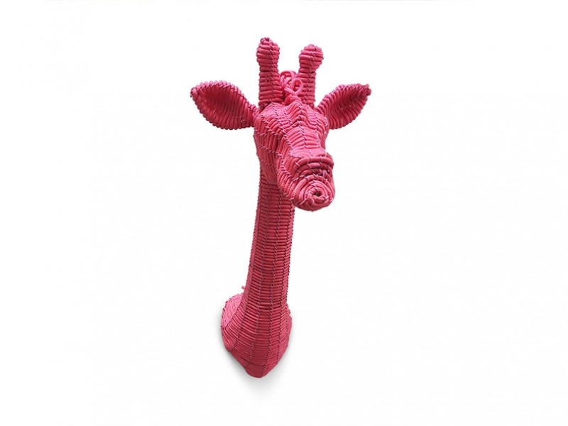 Rope Giraffe Head Mini